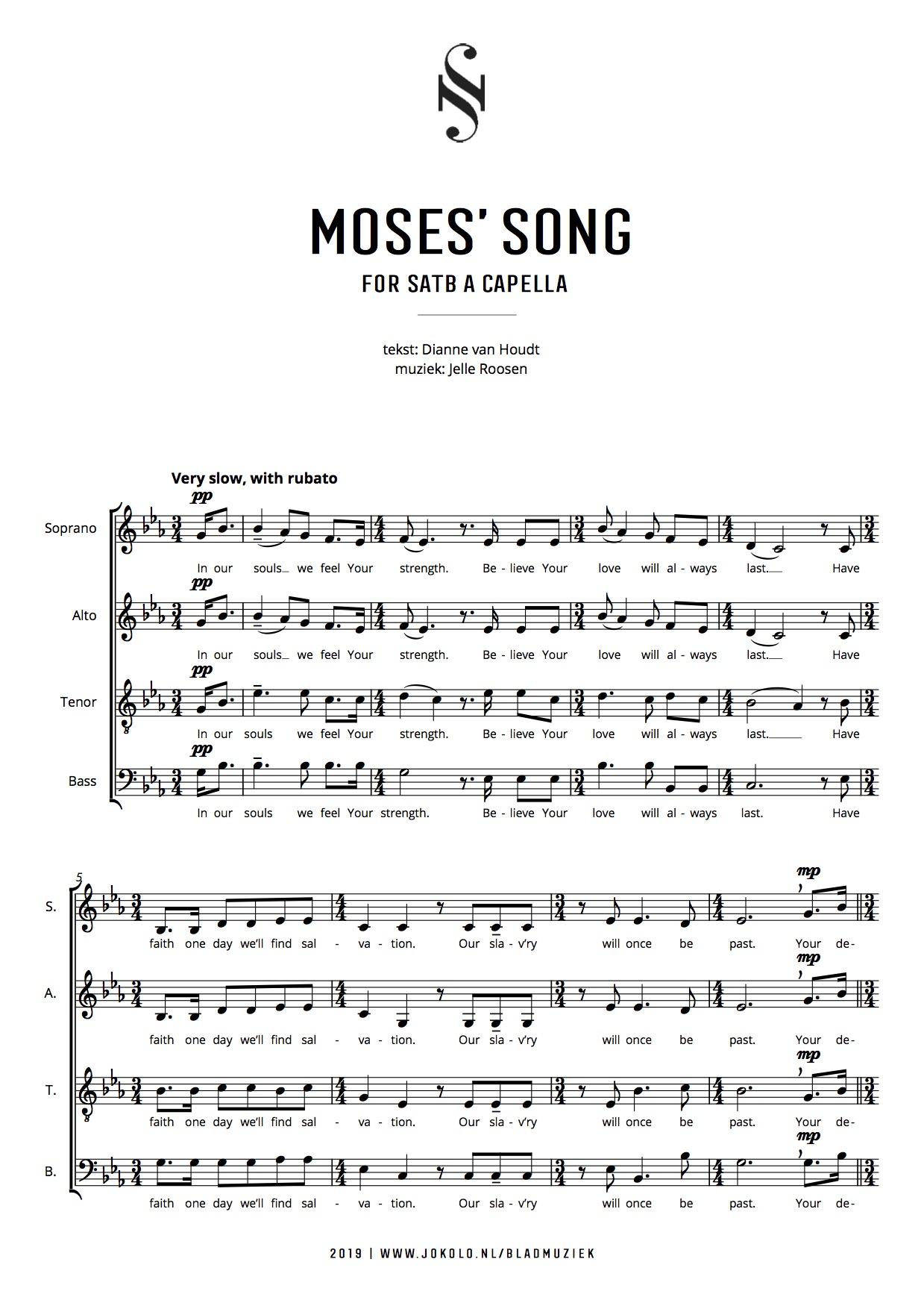 Jokolo - Moses' Song, Jelle Roosen - Dianne van Houdt